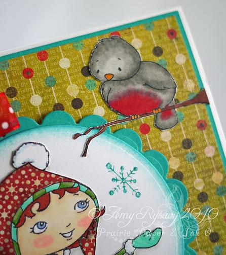 SN Darby and Pudge Happy Holidays Card Closeup 2 by AmyR