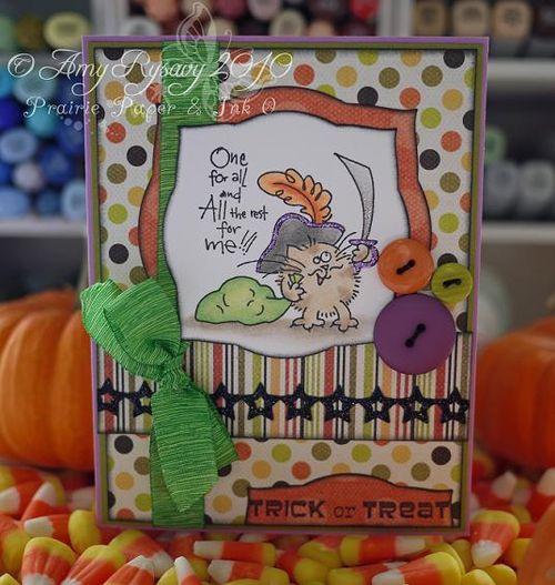 Fluffles TorT Card by AmyR