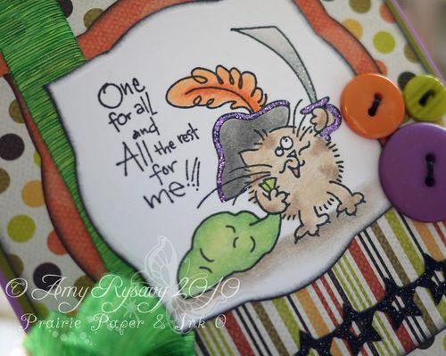 Fluffles TorT Card Closeup by AmyR