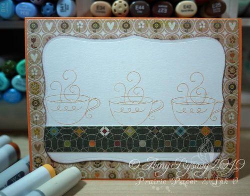 AmyR Stamps True Friend Card Inside by AmyR