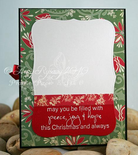 CCD Sugarplums Christmas Candle xmas note Card Inside by AmyR