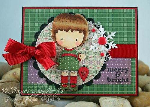 CCD Sugarplums Trim the Tree MandB Card by AmyR
