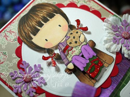 CCD Sweetest of Holidays Card Closeup by AmyR
