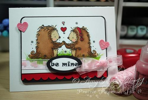 WRS Be Mine Card by AmyR