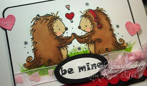 WRS Be Mine Card Closeup by AmyR