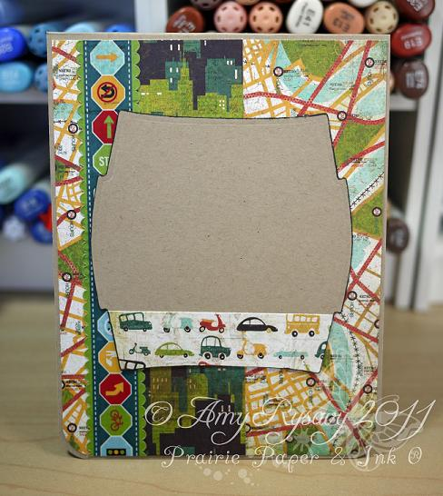 AmyR Baby Boy Car Card Inside by AmyR
