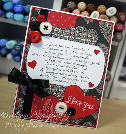 I Love You Card by AmyR