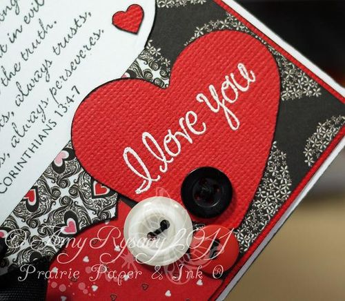 I Love You Card Closeup by AmyR