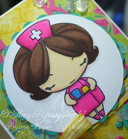 TGF Nurse Anya Get Well Card Closeup by AmyR