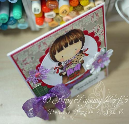 CCD Sweetest of Holidays Card Top View by AmyR