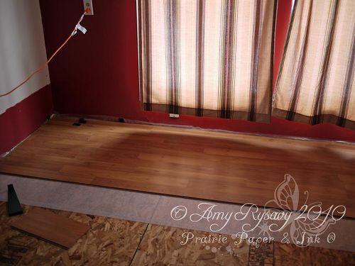 New floor partial