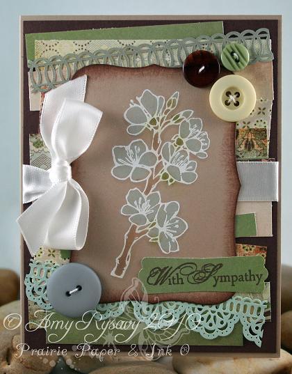 AmyR With Sympathy Card by AmyR
