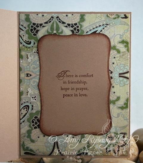AmyR With Sympathy Card Inside by AmyR
