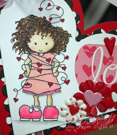 Bella WIL Love Card Closeup by AmyR