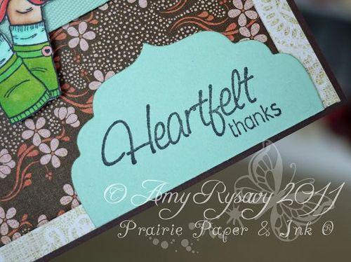 CCD SP Violet Hfelt Thanks Card Sentiment Closeup by AmyR