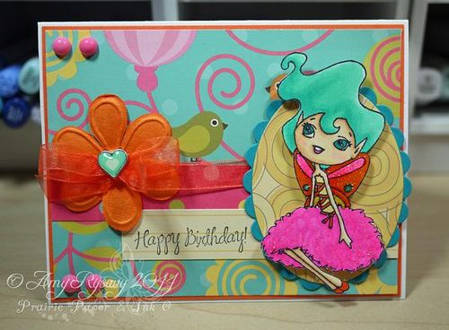 SN Clover GField Happy BDay Card by AmyR