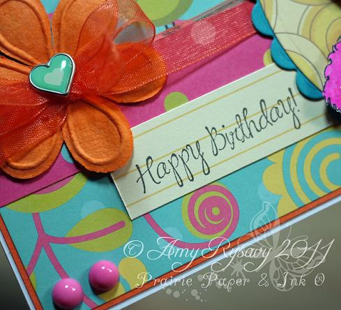 SN Clover GField Happy BDay Card Sentiment Closeup by AmyR