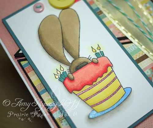 TCP FatC Happy Bday Card Closeup by AmyR
