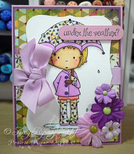 CCD Rain Lilliput UTW Card by AmyR