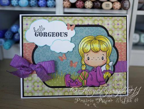 CCD SP Swthrt Birgitta Hello Gorgeous Card by AmyR