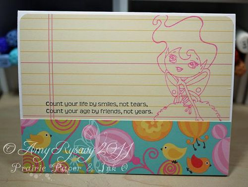 SN Clover GField Happy BDay Card Inside by AmyR