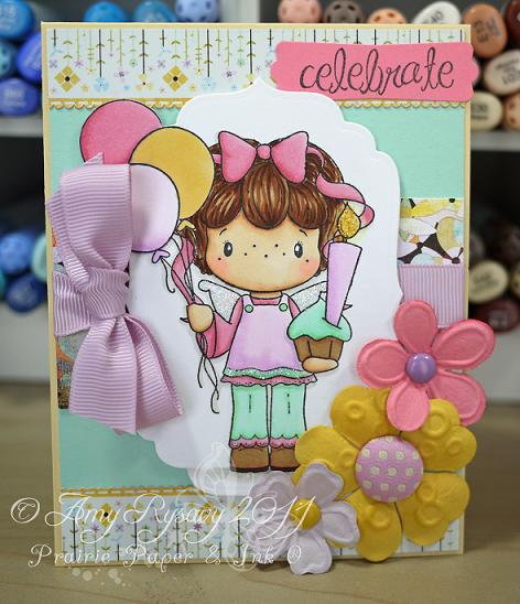 CCD SP BDay Gretel Celebrate Card by AmyR
