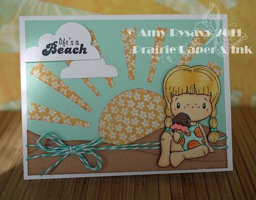 CCD Lifes a Beach Card by AmyR