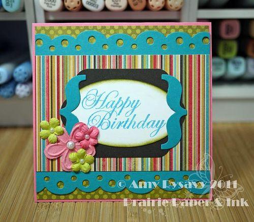 AmyR EG HB flower bracket card by AmyR