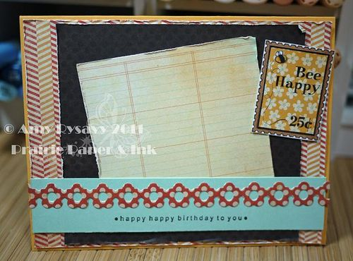 CCD LL Bee Bday Wishes Card Inside by AmyR