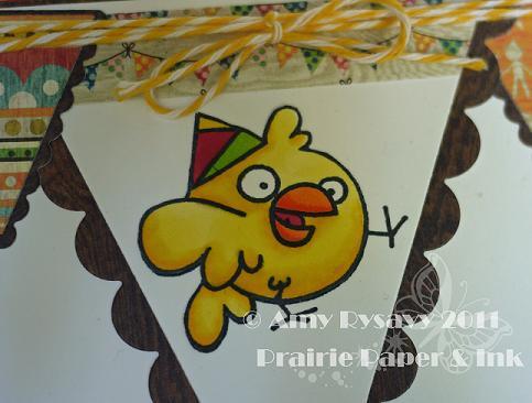 PS Happy Birdday Card Closeup by AmyR