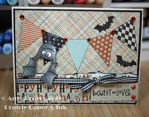 PS batty in love Card by AmyR