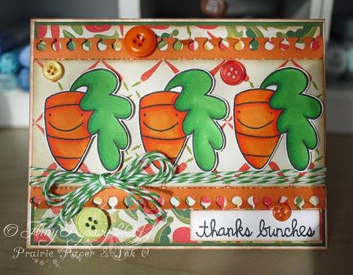 PS Happy Carrots Card by AmyR