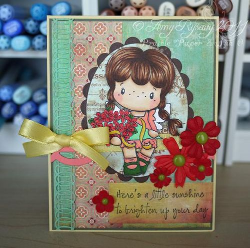 CCD SP Boquet Birgitta ls Card by AmyR
