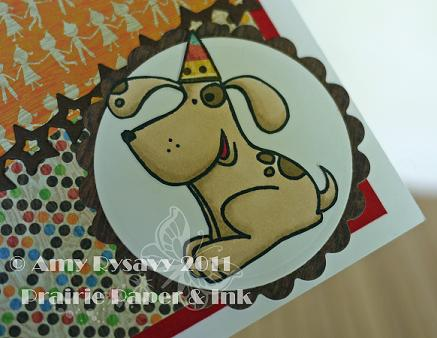 PS Happy Barkday Card Closeup by AmyR