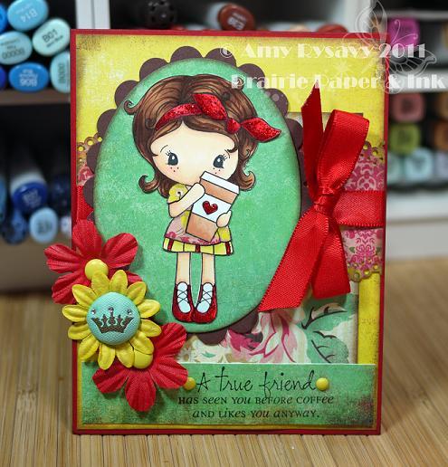 CCD Latte Kiki atf Card by AmyR