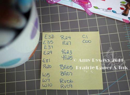 AmyR Holiday Card 1 Copics