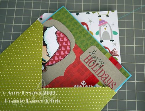 Square Envelope w Card by AmyR