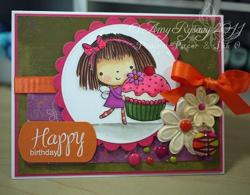 PB sweetthing happy bday card by AmyR