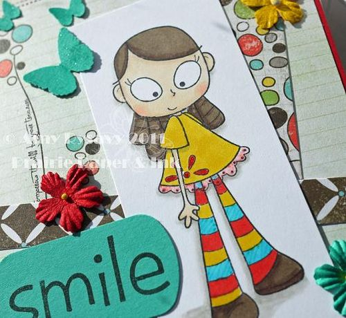 CCD LL Smile Card Closeup by AmyR