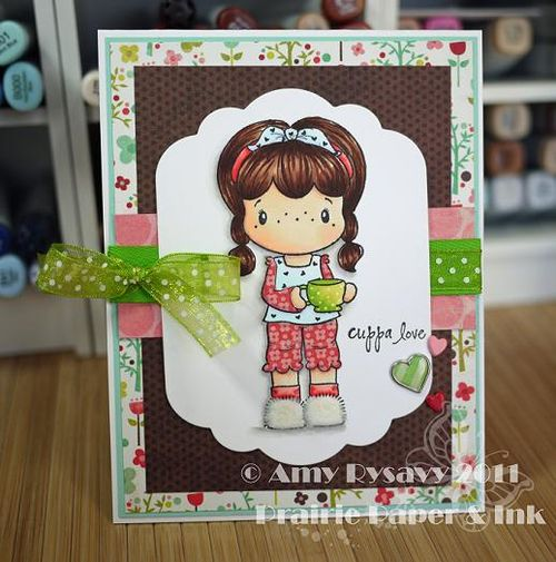 CCD SP Coffee Birgitta cuppa love card by AmyR