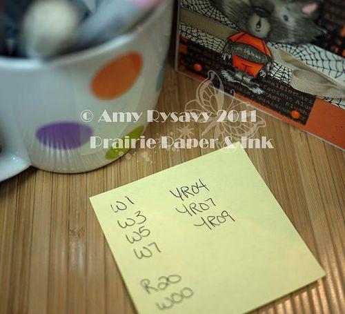 SN JoJo hfn Card Copics by AmyR