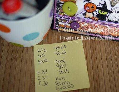 Inkadinkado Hween Sq Card Copics by AmyR