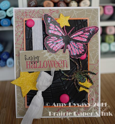 Butterfly Halloween Card by AmyR
