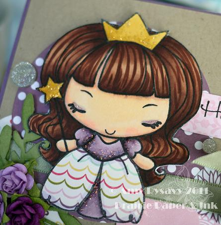 TGF PrAnya Happy Thoughts Card Closeup by AmyR