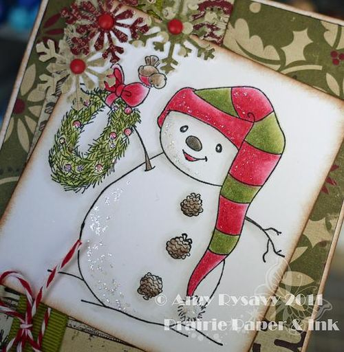 Holiday Card 6 Closeup by AmyR