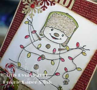 Holiday Card 9 Closeup by AmyR