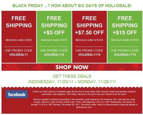 GC AmyR holi-deals