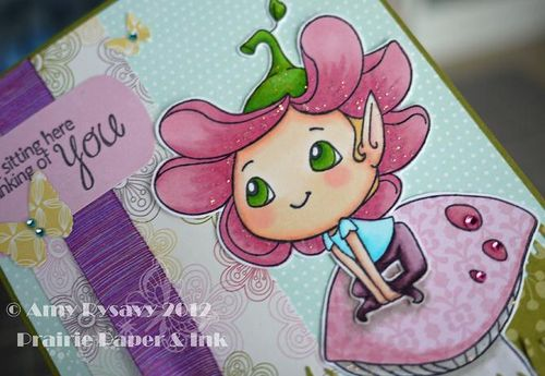 SN Bloom Sittin Here Card Closeup by AmyR