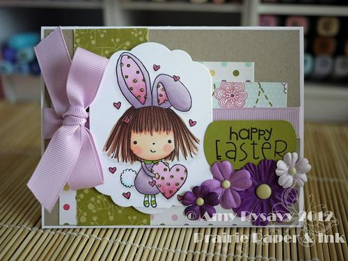 Spring Easter Card 5 by AmyR