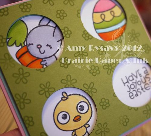 Spring Easter Card 7 Closeup by AmyR